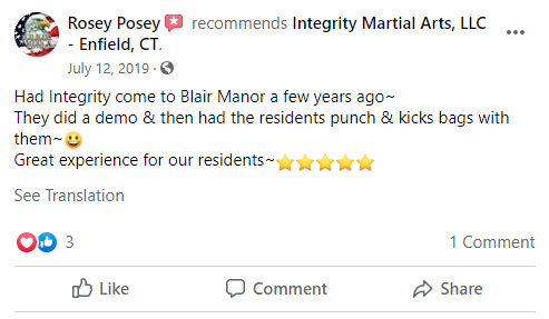 3, Integrity Martial Arts in Enfield, CT