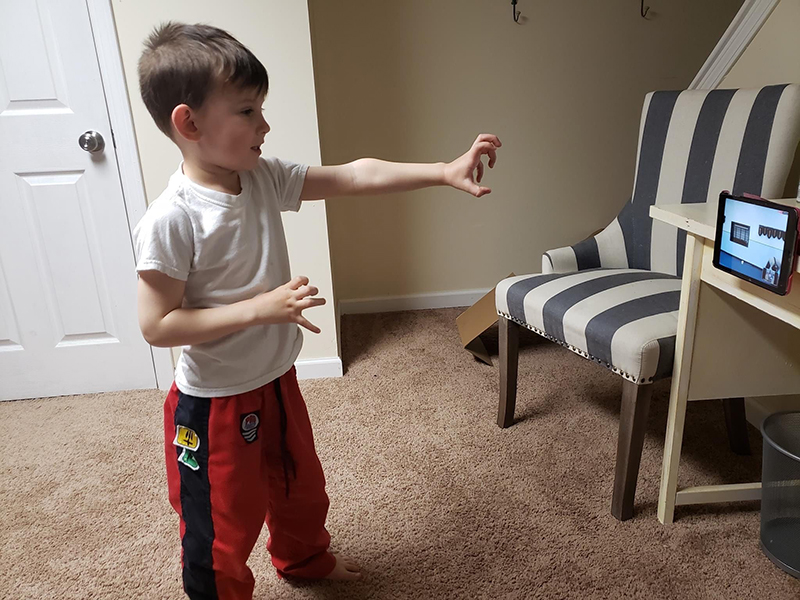 Preschool martial art training in Enfield